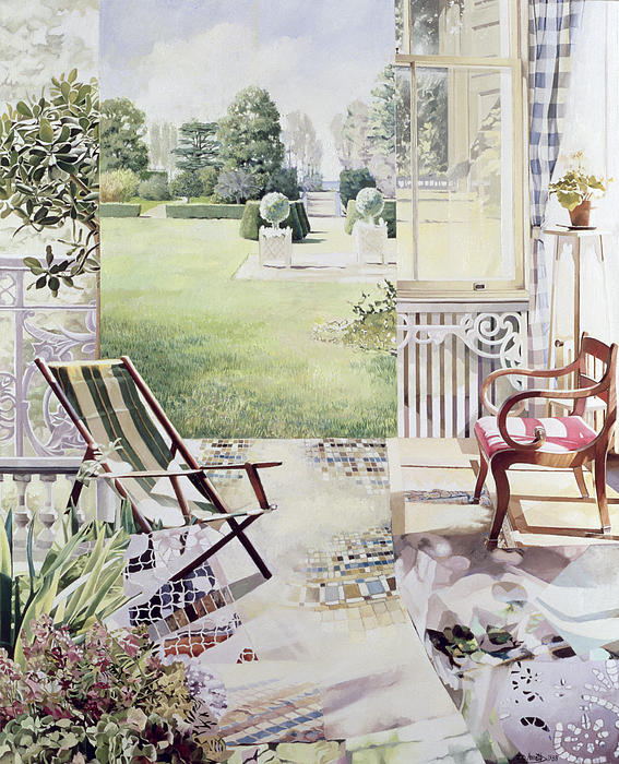 Garden Painting - Partie De Campagne by Jeremy Annett