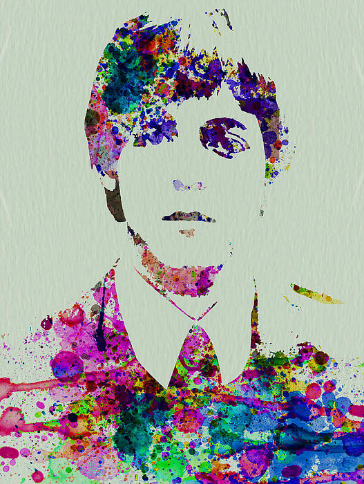 Painting - Paul Mccartney Watercolor by Naxart Studio