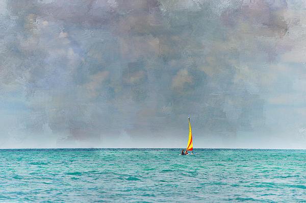 Ocean Photograph - Peaceful Getaway by Kathy Jennings