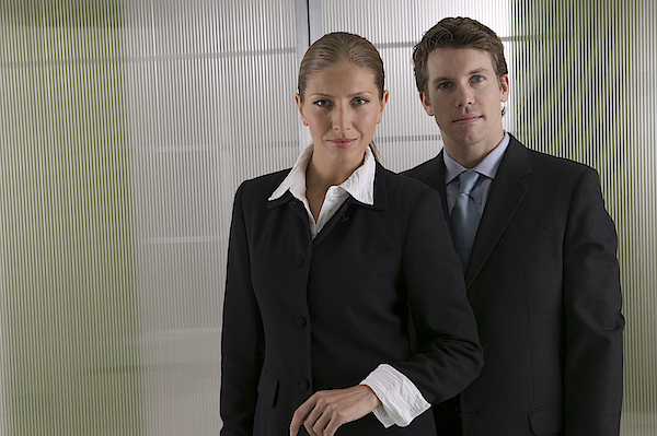 People In Business Attire Photograph by Comstock Images