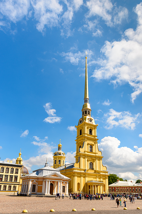 Peter And Paul Cathedral, Saint Petersburg, Russia Photograph by Syolacan