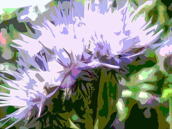Digital Art Digital Art - Phacelia by Bitten Kari