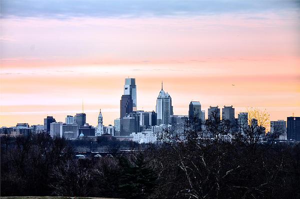 Philadelphia Photograph - Philadelphia From Belmont Plateau by Bill Cannon