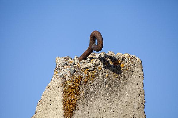 Rust Photograph - Pillar And Sky by Fran Riley