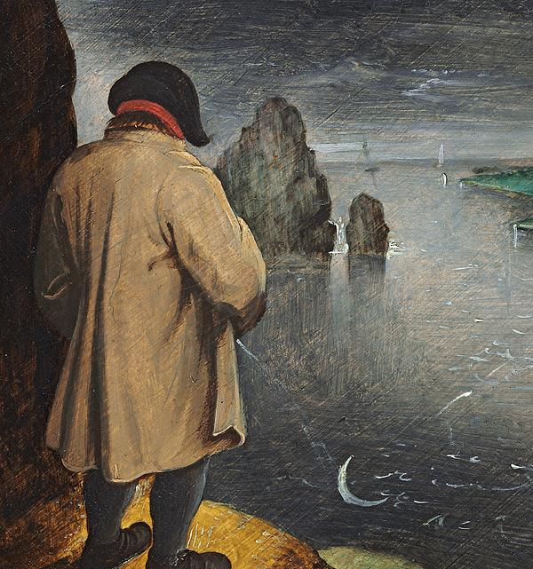 Pee Painting - Pissing At The Moon  by Pieter the Younger Brueghel