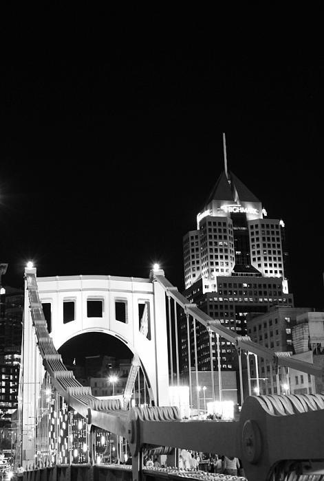 Pittsburgh Photograph - Pittsburgh Bridge by Josh Ebel