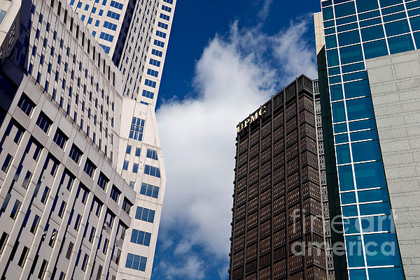 Building Photograph - Pittsburgh Skyscrapers by Amy Cicconi