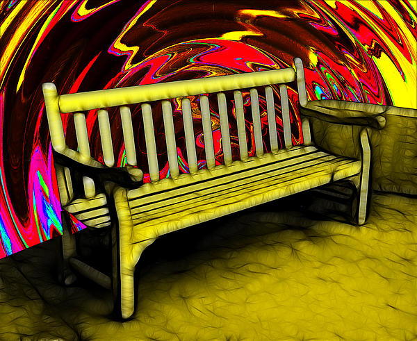 Digital Photograph - Please Be Seated by Wendy J St Christopher