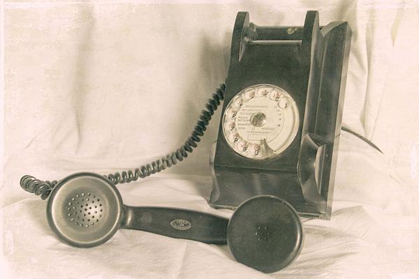 Telephone Photograph - Please Call by Georgia Fowler