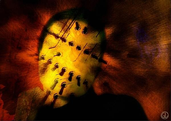 Surreal Digital Art - Plugged In Zombie by Gun Legler