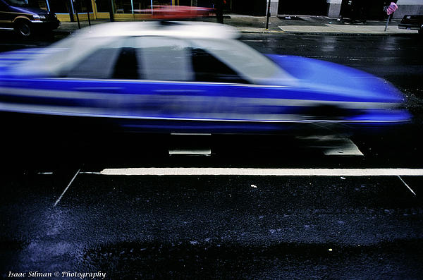 Police Chase Photograph - Police Chase by Isaac Silman