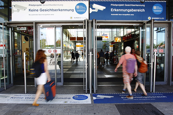 Police Test Facial Recognition Software At Berlin Train Station Photograph by Michele Tantussi