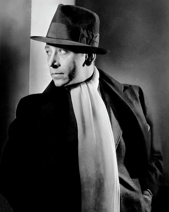 Portrait Of Actor George Raft Photograph by Lusha Nelson