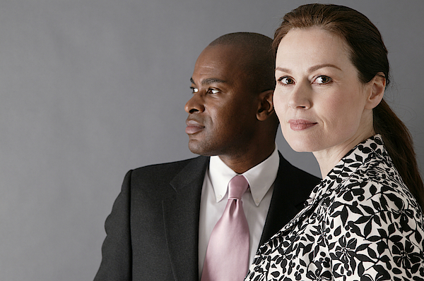 Portrait Of Businesspeople Photograph by Comstock Images