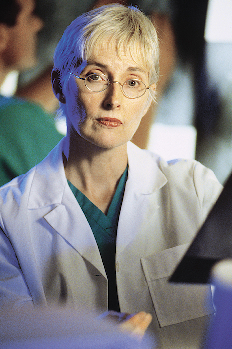 Portrait Of Woman Doctor Photograph by Comstock