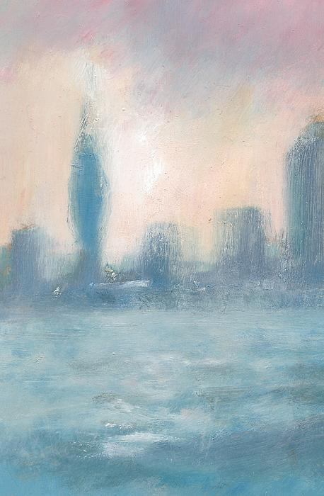 Portsmouth Dawn Part One Painting by Alan Daysh