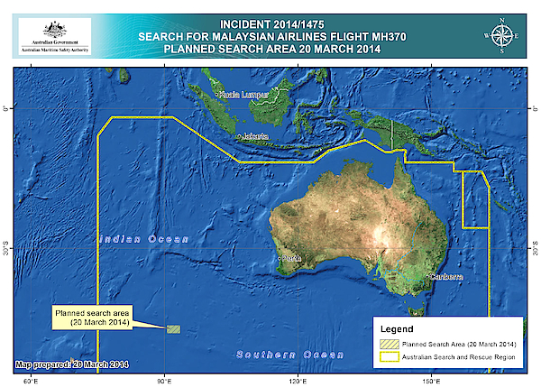 Possible Malaysian Airliner Debris Found In Indian Ocean Photograph by Handout