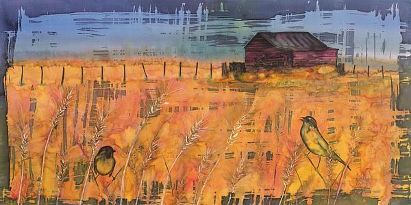 Farm Tapestry - Textile - Prairie Song by Carolyn Doe