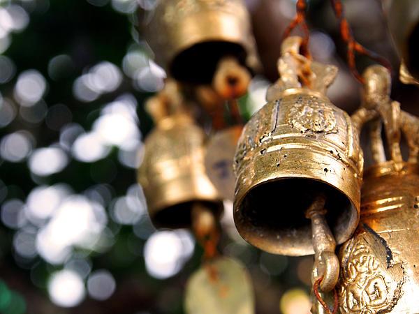 Prayer Photograph - Prayer Bells by Kaleidoscopik Photography