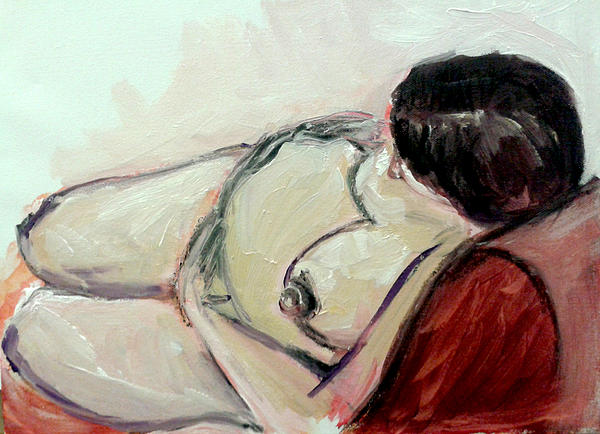Pregnancy Painting - Pregnant01 by Tali Farchi