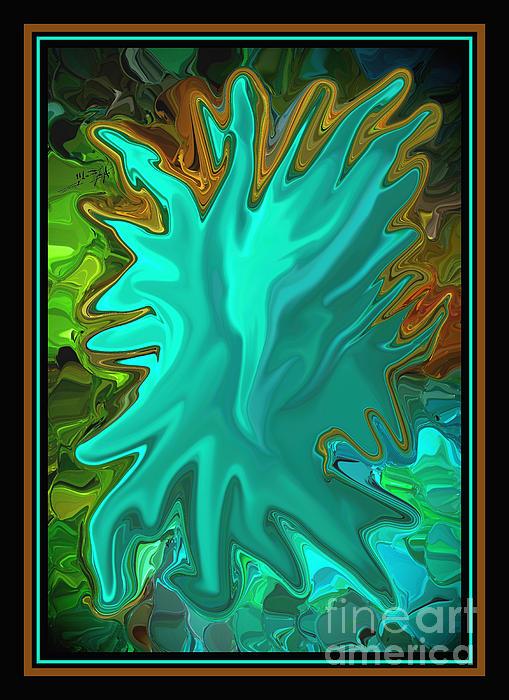 Eagle Digital Art - Pride The Screaming Eagle By Steven Langston by Steven Lebron Langston