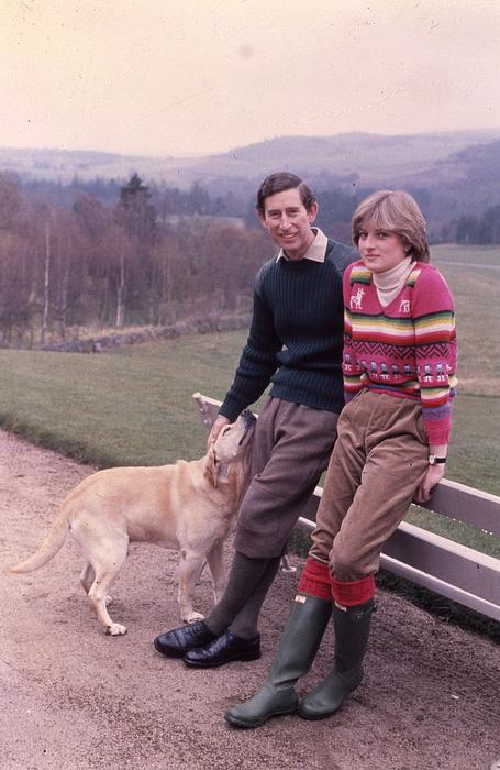 Prince Photograph - Prince Charles And Lady Diana by Retro Images Archive