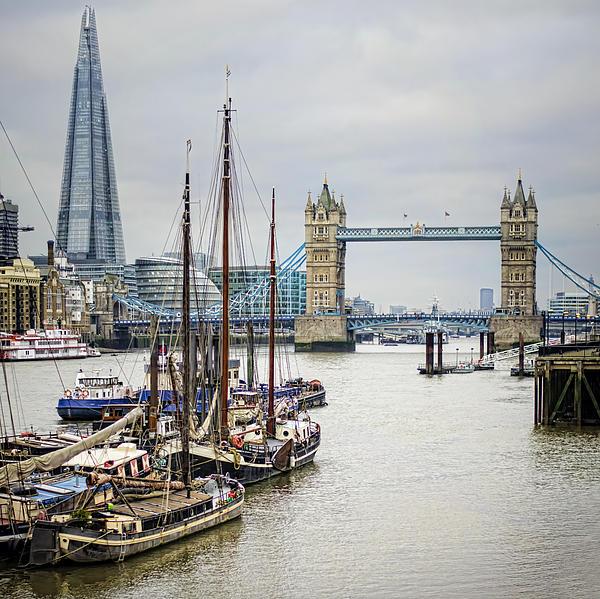 London Photograph - Progress by Heather Applegate
