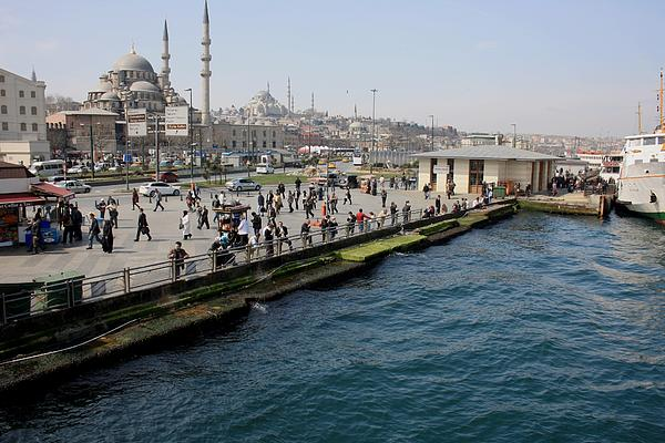 Istanbul Photograph - Promised Land by Frederic Vigne
