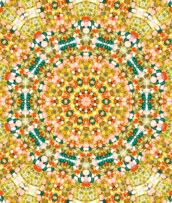 Psychedelic Photograph - Psychedelic Pattern by Jose Elias - Sofia Pereira