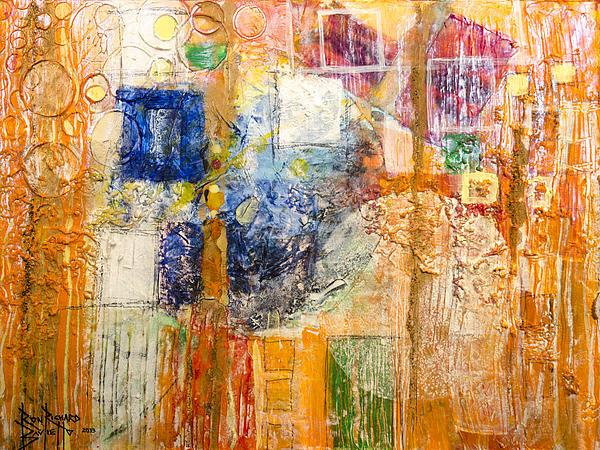 Mental Disorder Painting - Psychogenesis by Ron Richard Baviello