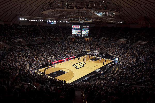 Purdue Photograph - Purdue Boilermakers Mackey Arena by Replay Photos