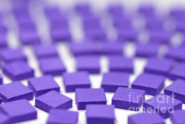 Abstract Photograph - Purple Pattern by Amy Cicconi