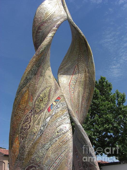 Ardea Purpurea Photograph - Purpurea Mosaic by Deborah Smolinske