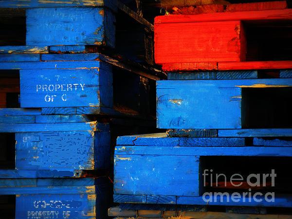 Abstract Photograph - Pyramid Scheme by Joe Jake Pratt