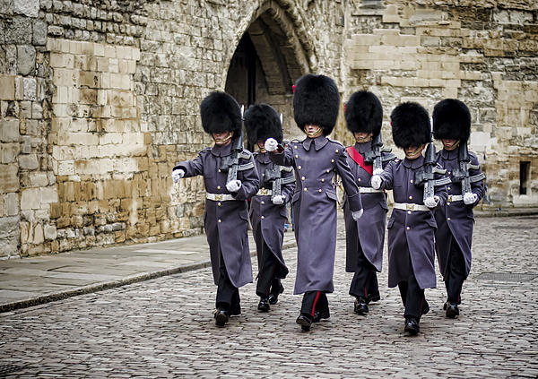 Guard Photograph - Queens Guard by Heather Applegate