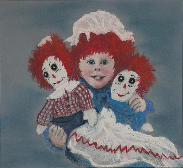 Kids Pastel - Raggedy Dani by Jocelyn Paine