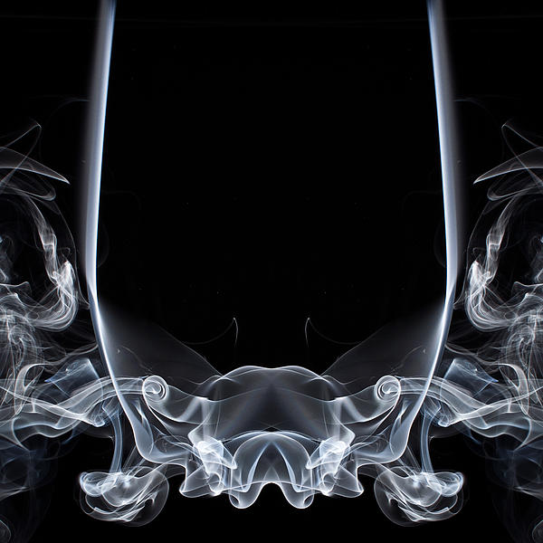 Smoke Trail Photograph - Raging Bull 1 by Steve Purnell
