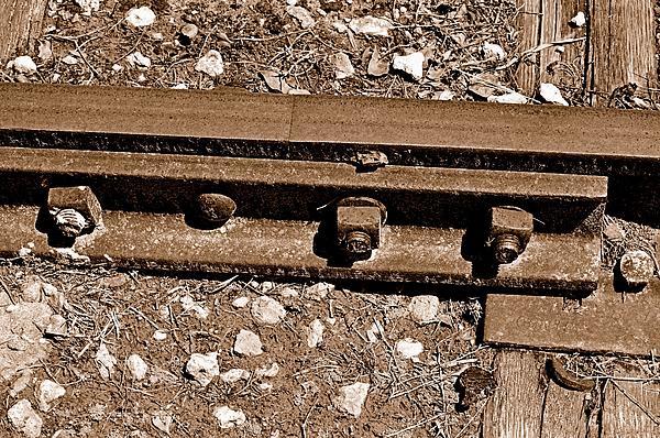 Railroad Photograph - Railroad Track by Andres LaBrada