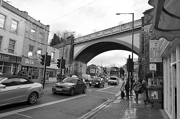 Railway Bridge Photograph - Railway Bridge by Bishopston Fine Art