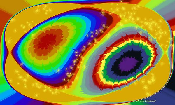 Rainbow Digital Art - Rainbow Dreamin by Naomi Richmond