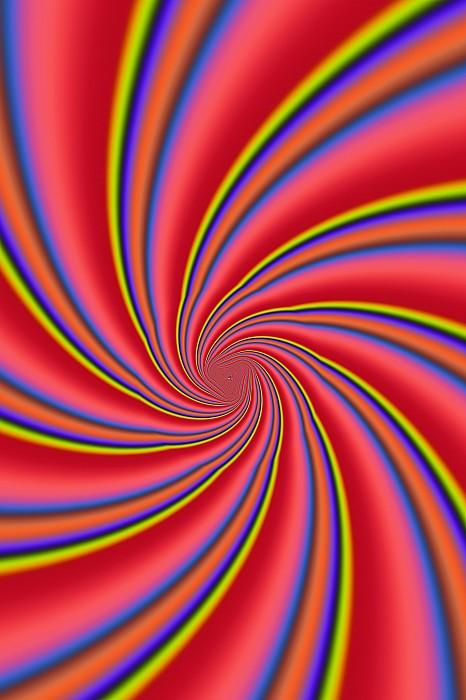 Abstracts Photograph - Rainbow Swirls by Paul Sale Vern Hoffman