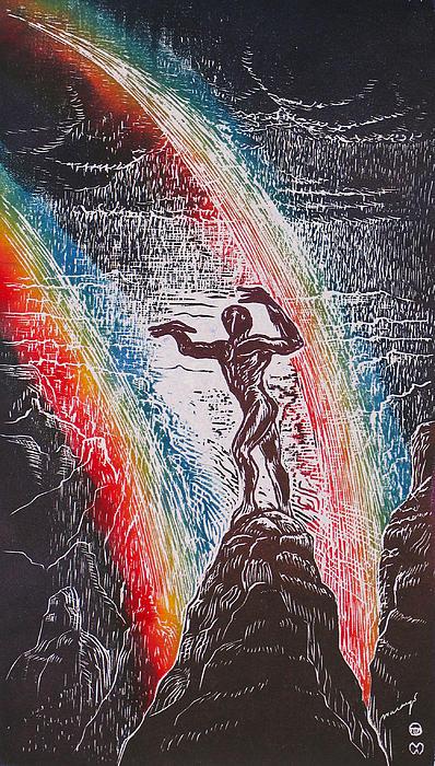 Wizard Relief - Rainmaker by Maria Arango Diener