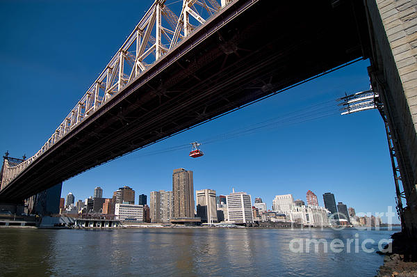 Bridge Photograph - Randall Island Tram by Amy Cicconi