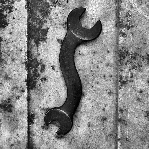 Raw Steel Photograph - Raw Steel 2...curvatures by Tom Druin