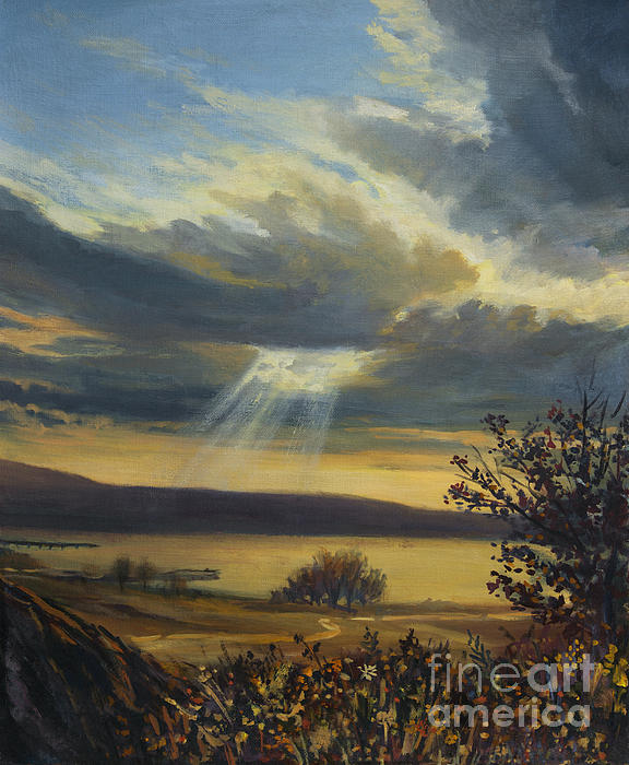 Artwork Painting - Ray Of Light by Kiril Stanchev