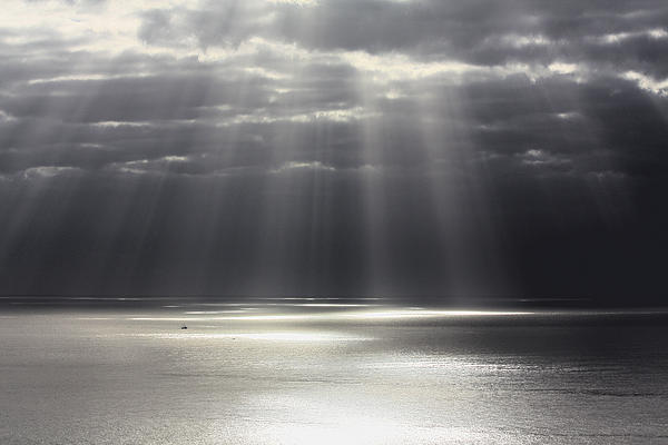Seascape Photograph - Rays Of Hope by Shane Bechler