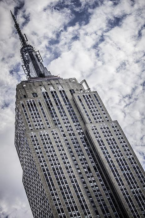 Empire State Building Photograph - Reaching For The Sky by Edward Khutoretskiy