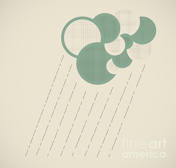 Abstract Digital Art - Real Cloud Service by Igor Kislev