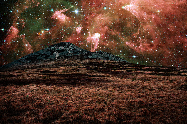 Carina Nebula Photograph - Red Planet by Semmick Photo
