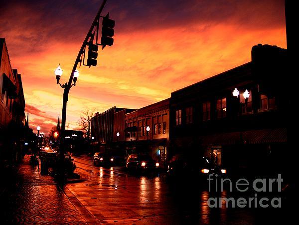 Photograph - Red Sky At Dusk by   Joe Beasley